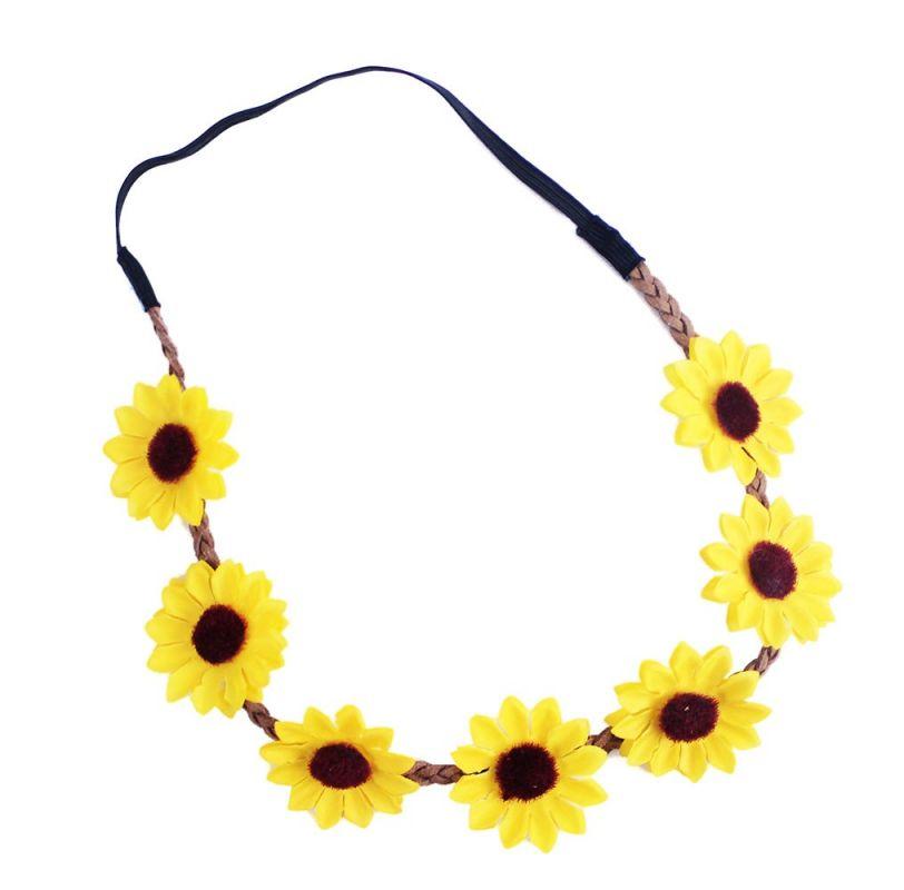 Čelenka květina žlutá (24) Rappa