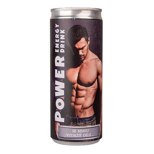 Energetický nápoj - Muž - se mnou vydržíš ...(74-H) Mediabox