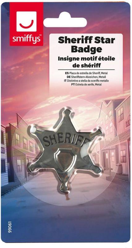 Hvězda šerifská - (79-G) Smiffys.com