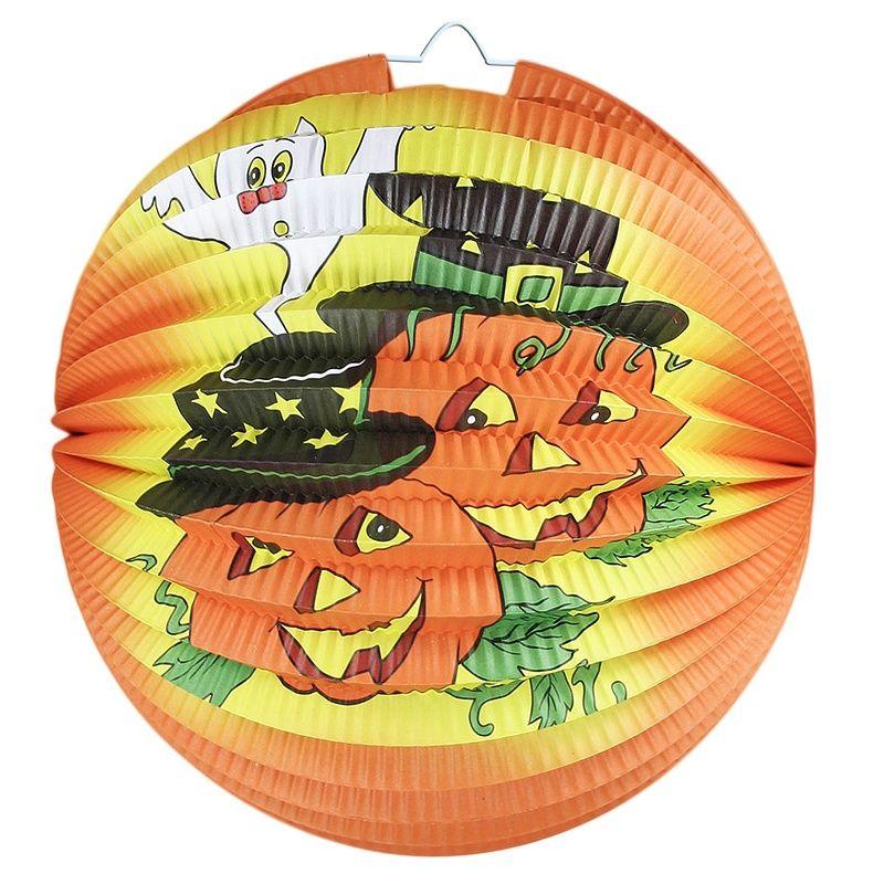 Lampion - Halloween veselá dýně - (9-G) Rappa