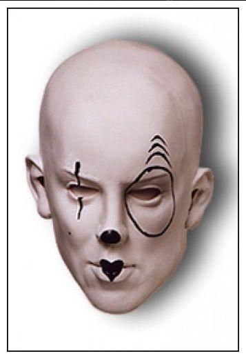 Maska Pierot (M074) (119-D) Greyland