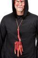 Náhrdelník - krvavá ruka