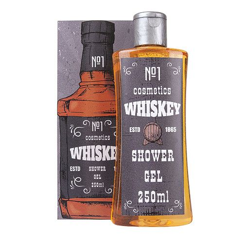 Sprchový gel - WHISKY 250 ml Mediabox