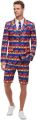Kostým - Oblek Plameňák - M