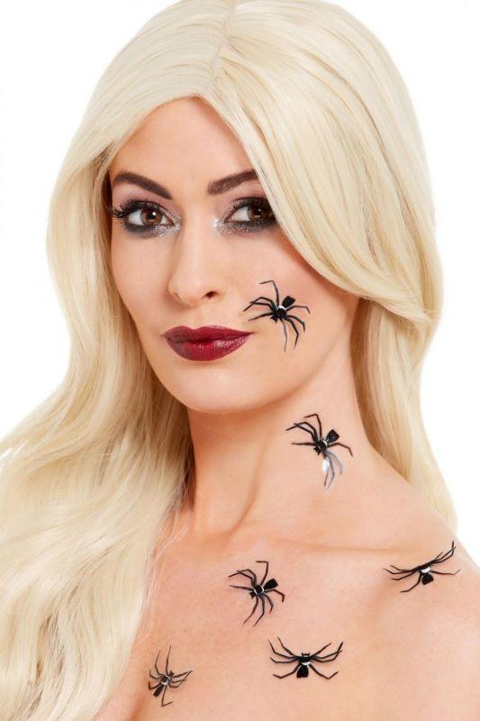 Tetování - Pavouci - 6ks (15-A) Smiffys.com