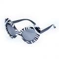 Brýle - Retro - černo- bílé (48-C)