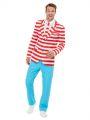 Kostým - Oblek - Where's Wally?  - XL