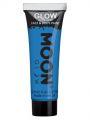 Barva na obličej a tělo - Moon Glow - svítící ve tmě  modrá  12ml