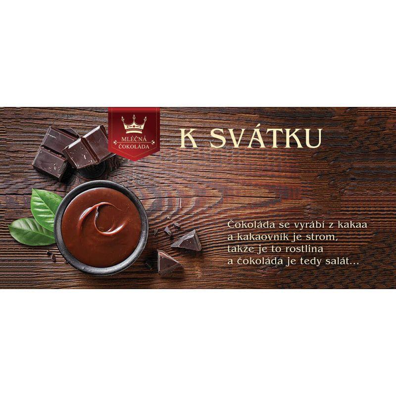 Čokoláda - K Svátku (74-H) Mediabox