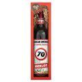 Dárkové víno - Vše nejlepší 70 - červené 750ml