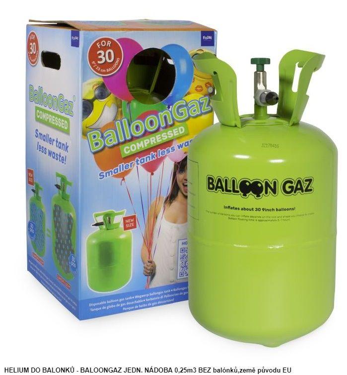 Helium - bez balónků na 30 ks (76-A) Tarra