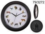 Hodiny - divoká zvířata ( 71-A, 124)