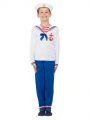 Dětský kostým - námořník - M (86-C)