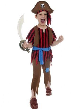 Dětský kostým - Pirát - S Smiffys.com
