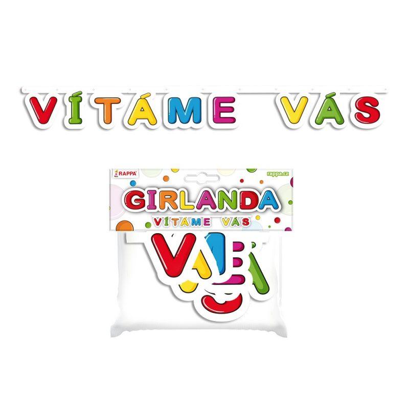 Girlanda - vítáme vás (17) Rappa