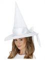 Klobouk čarodějnice - bílý (123)