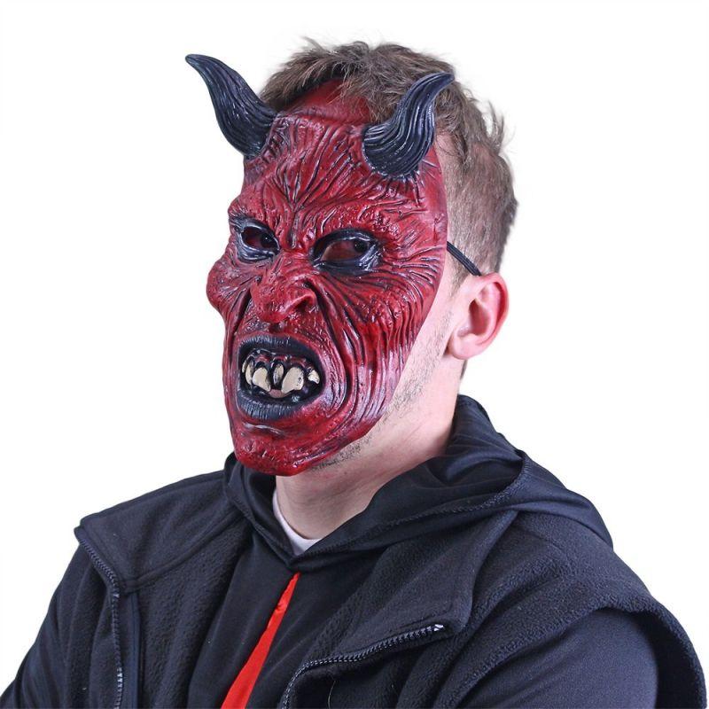 Maska čert s rohy Rappa