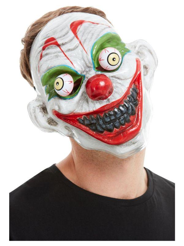 Maska Klaun - pohyblivé oči Smiffys.com