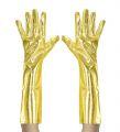 Rukavice - zlaté dlouhé (37-F)