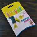 Tkaničky  barevné silikon (81)
