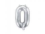 Balónek celofánový - stříbrný - 0
