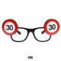 Brýle dopravní značka - 30  (69)