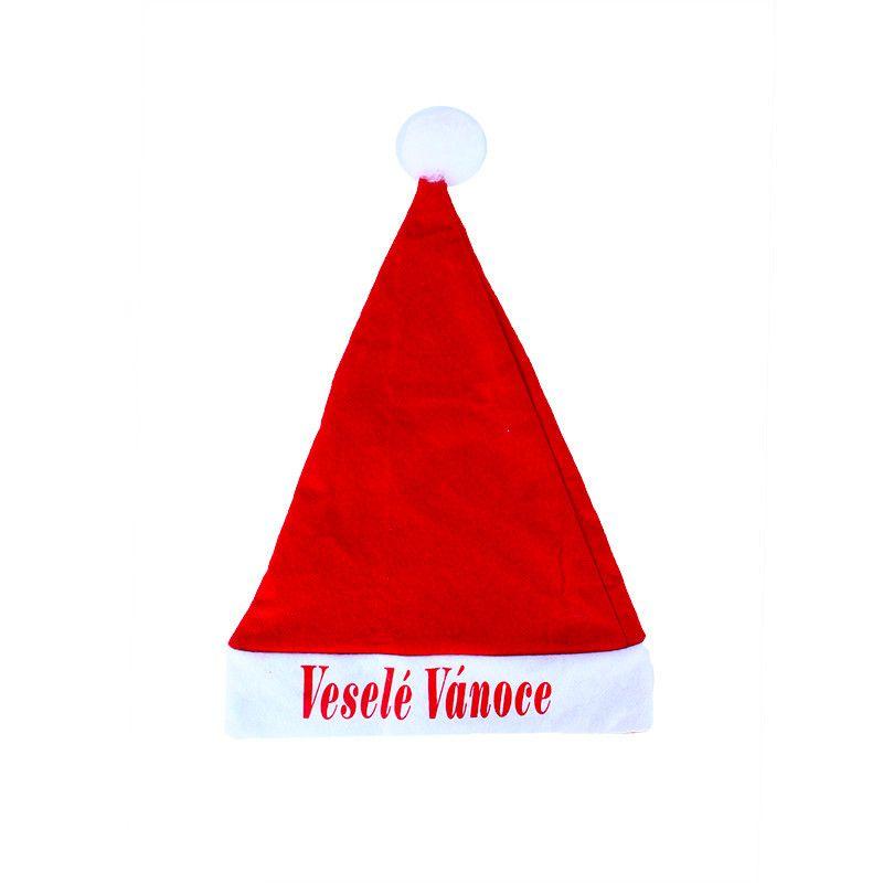 Čepice santa - veselé vánoce Rappa