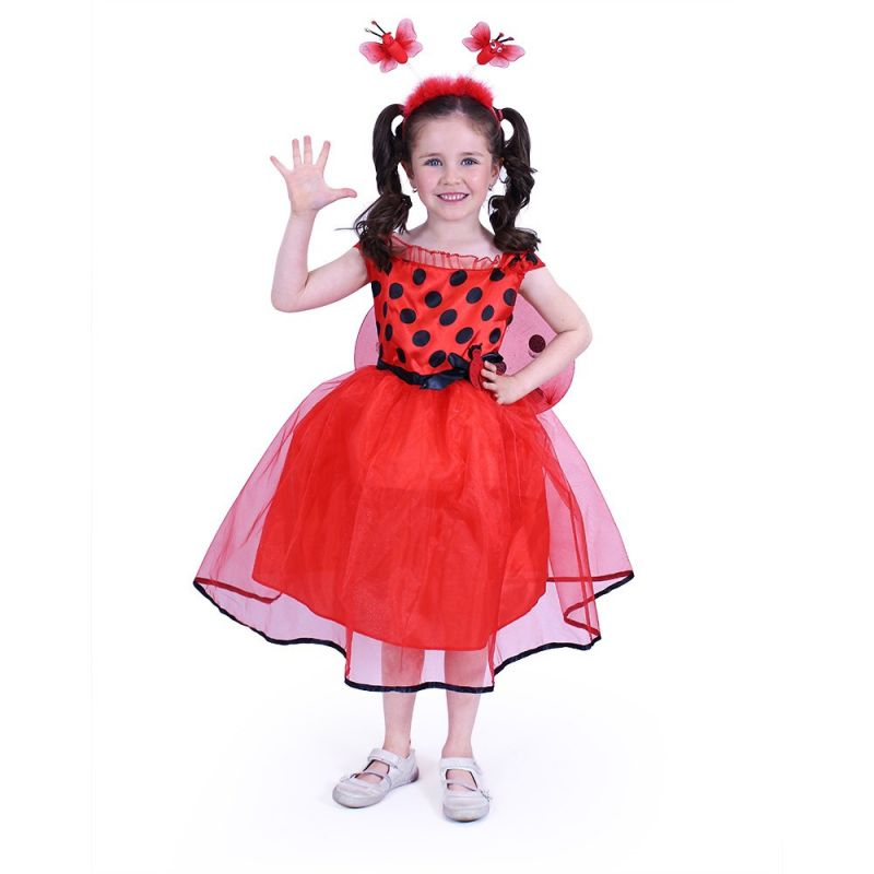 Dětský kostým - Beruška - S (85-B) Rappa