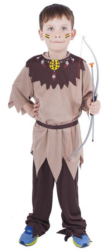 Dětský kostým - Indián - M (86-C) Rappa