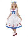 Dětský kostým - Námořnice - M (85-C)