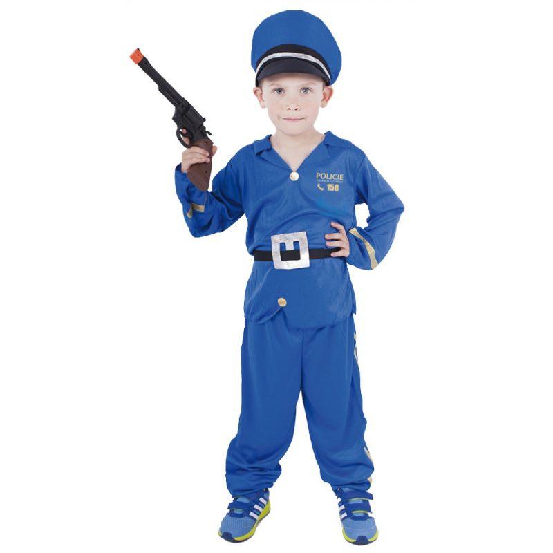Dětský kostým - Policista - S (86-B) Rappa