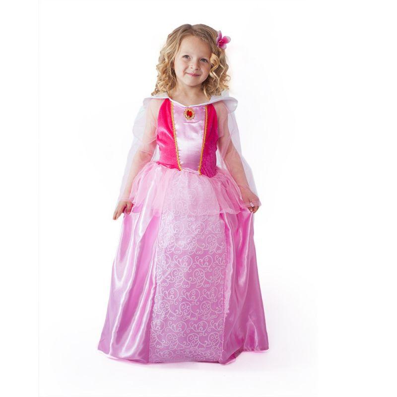 Dětský kostým - Princezna růžová - S (85-B) Rappa