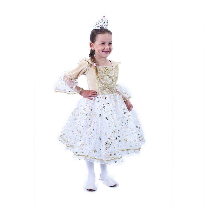 Dětský kostým - Princezna zlatá - S (85-B) Rappa