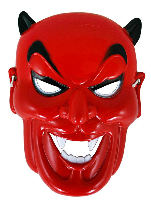 Maska čert - plast (90) Rappa