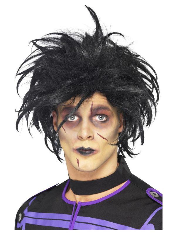 Paruka Psycho černá (1-A) Smiffys.com