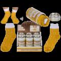 Ponožky v plechovce pro pivaře (70-E)