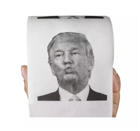 Toaletní papír - prezident (74-D) ptakoviny.cz