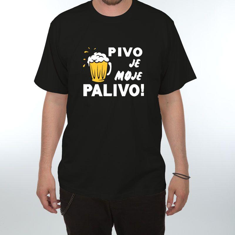 Tričko - pivo je moje palivo - XXXL (18-E) Divja.cz