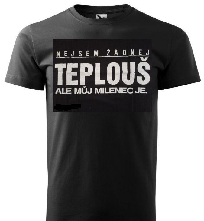 Tričko - Teplouš - XL ptakoviny.cz