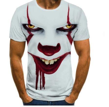 Tričko - Tričko - Joker - klaun horor (XL) ptakoviny.cz