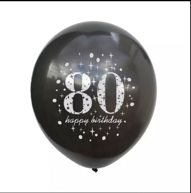 Balónek nafukovací - 80 (12-H)