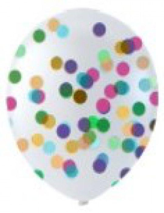 Balónek s konfetami 6ks (12)