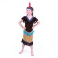 Dětský kostým - Indiánka - M (85-C)