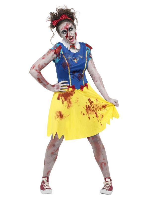 Kostým - Sněhurka Zombie - XS (87-E)