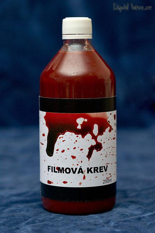 Krev - filmařská 250ml (15-DC)