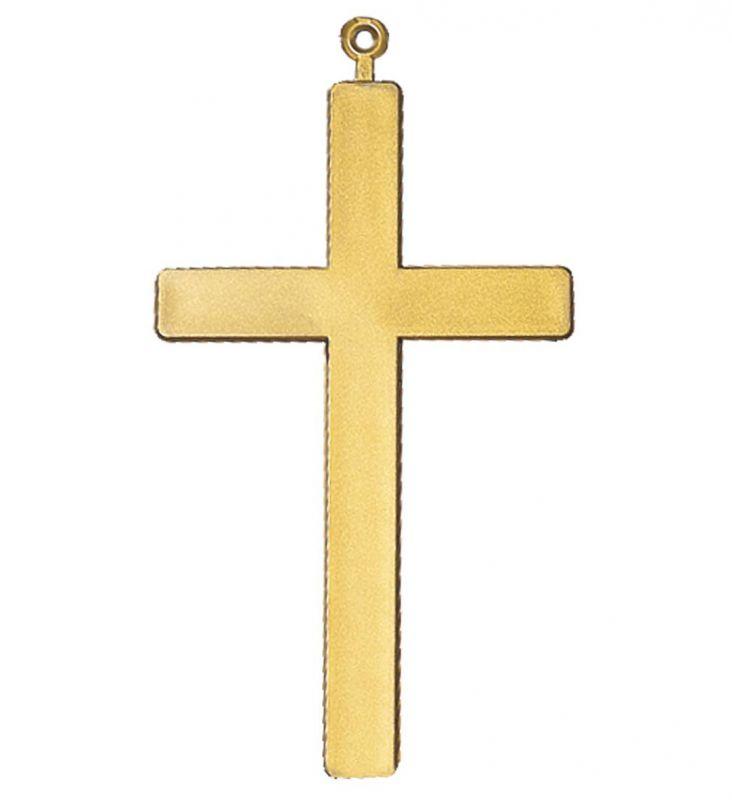 Kříž zlatý - plast (92)