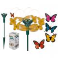 Motýlek do květináče na solární pohon (81-D)