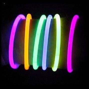 Náramek svítící 20cm - 15ks (48-B)