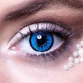 Oční čočky - Andělské - modročerné  (74D)