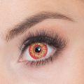 Oční čočky - Vlkodlak  červenožluté (74D)